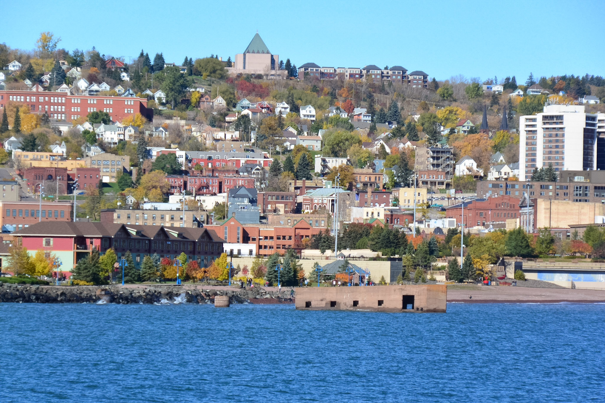 City of Duluth, home of the Arrowhead Dog Agility Club, in the Autumn